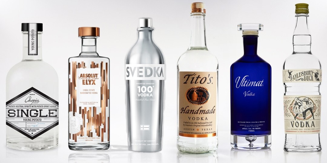The 10 Best Vodkas In The World Hangover Prices
