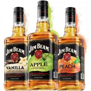 Jim Beam flavored drinks