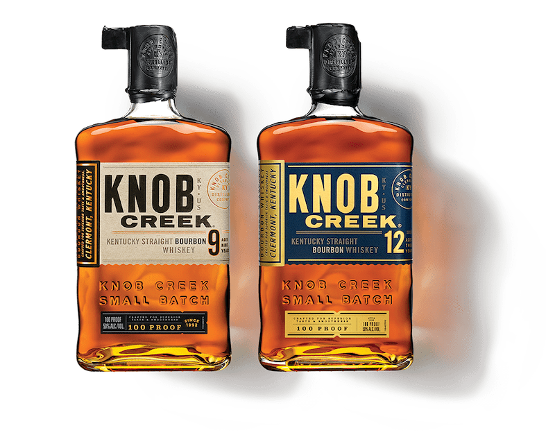 Knob creek bourbon whiskeys