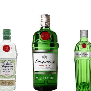 Tanqueray London, Ten and Rangpur gins